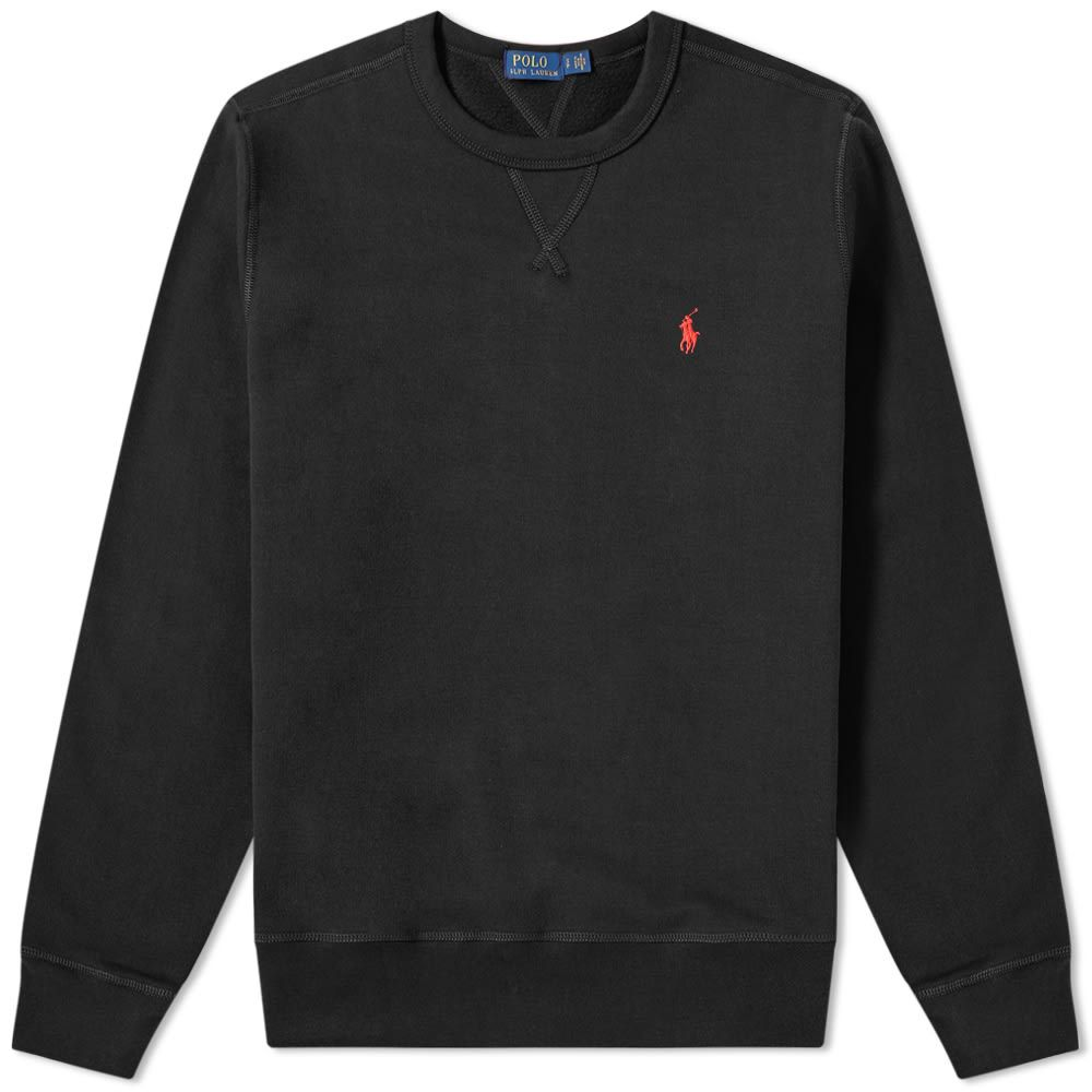 ラルフ ローレン Polo Ralph Lauren メンズ フリース トップス【vintage fleece crew sweat】Polo Black