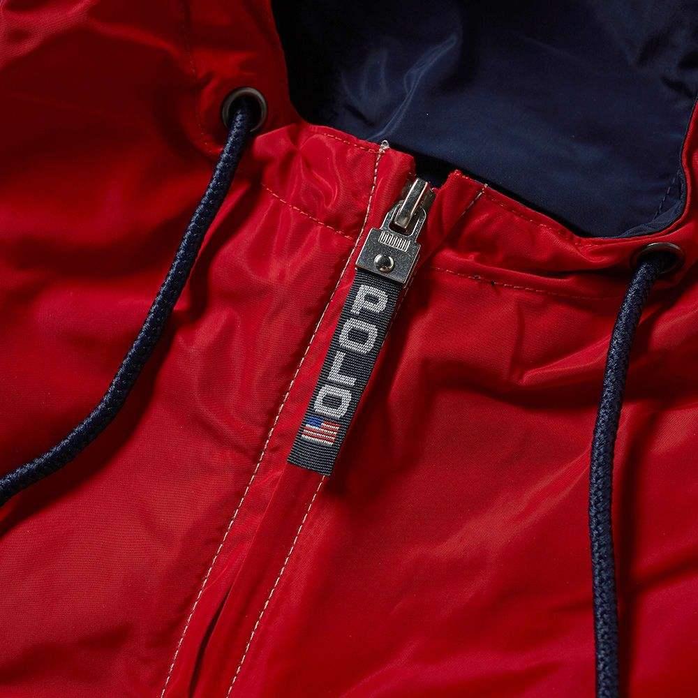 ラルフ ローレン Polo Ralph Lauren メンズ ジャケット ウィンドブレーカー アウター polo sport silver back logo windbreaker Silver Newport Navy Whitey7mvIY6bfg