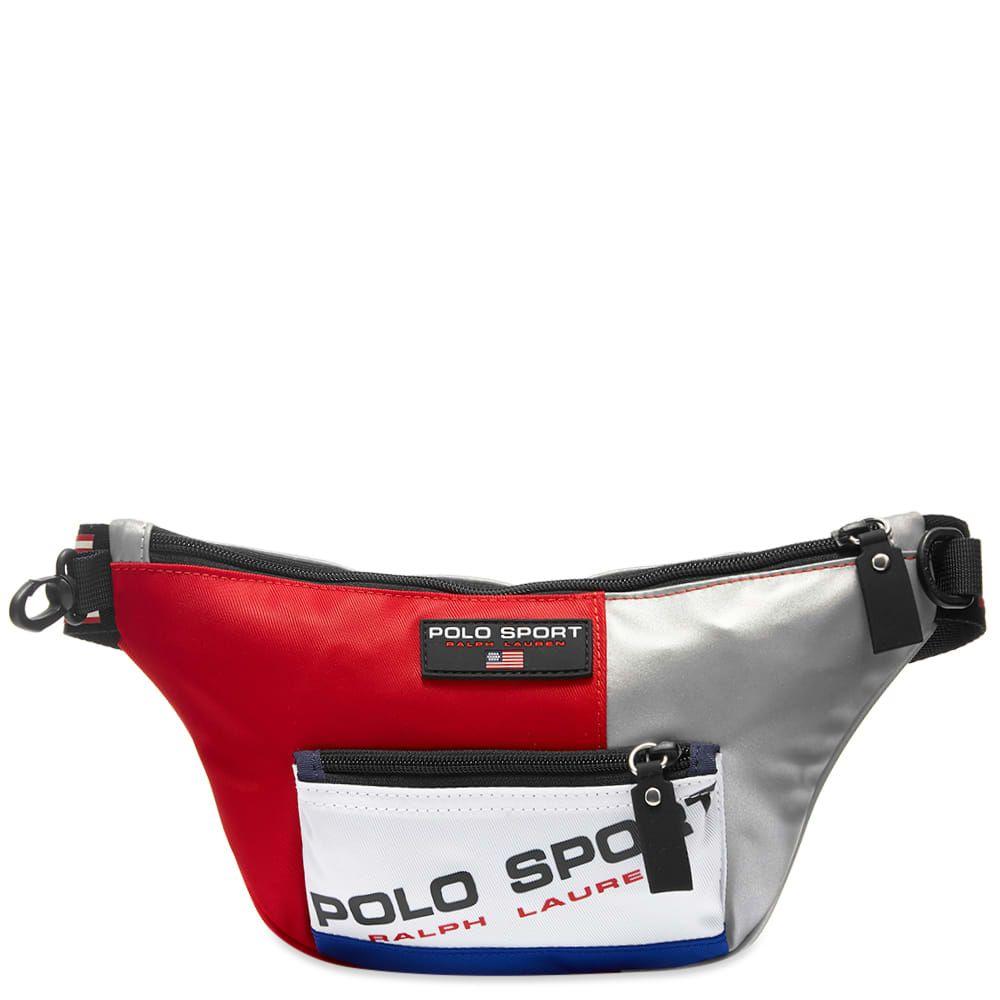 ラルフ ローレン Polo Ralph Lauren メンズ ボディバッグ・ウエストポーチ バッグ【polo sport silver waist bag】Silver Mix