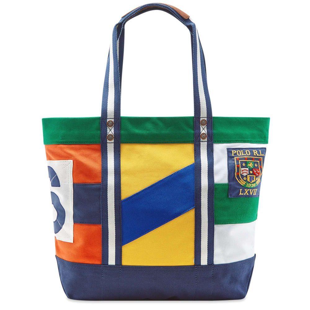 ラルフ ローレン Polo Ralph Lauren メンズ トートバッグ バッグ【flag patchwork shopper tote】Multi