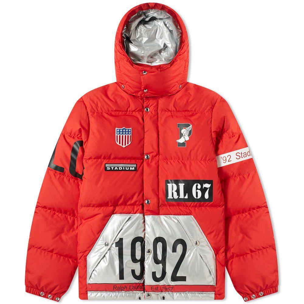 ラルフ ローレン Polo Ralph Lauren メンズ ジャケット アウター【hawthorn jacket】Injection Red/Silver