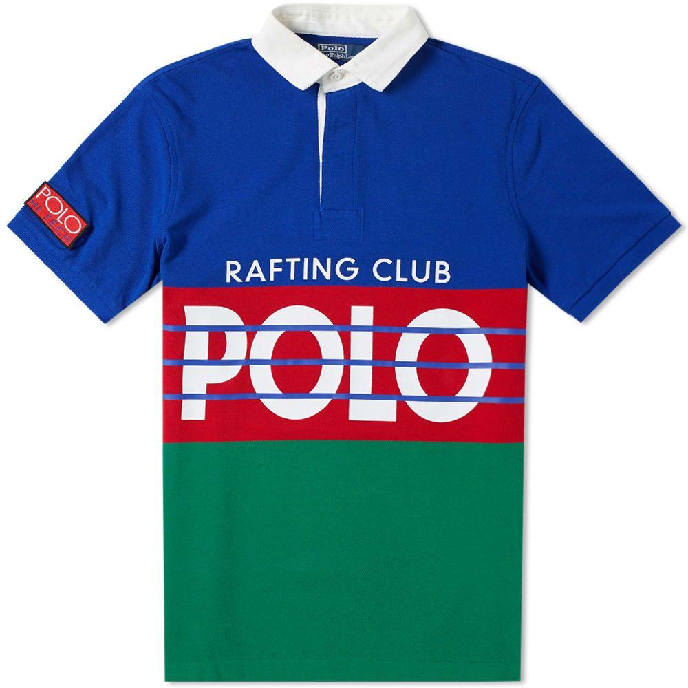 ラルフ ローレン Polo Ralph Lauren メンズ ポロシャツ トップス【hi-tech print pique polo】Rugby Royal Multi
