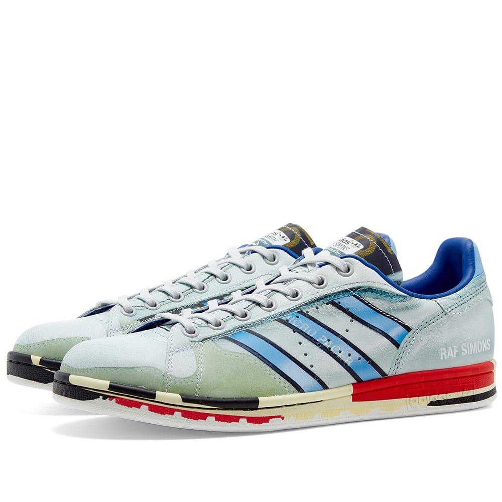 アディダス Adidas x Raf Simons メンズ スニーカー シューズ・靴【micro stan】Silver/White