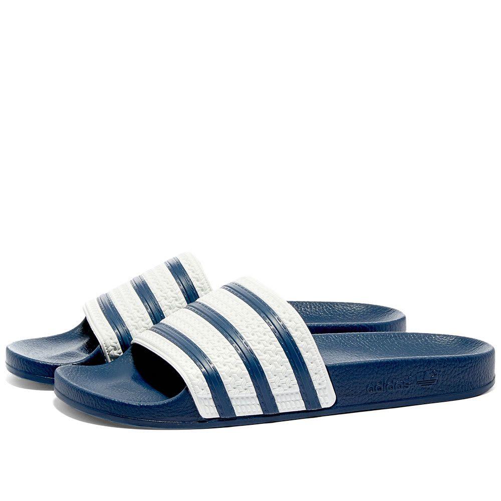 アディダス Adidas メンズ サンダル シューズ・靴【adilette】Blue/White
