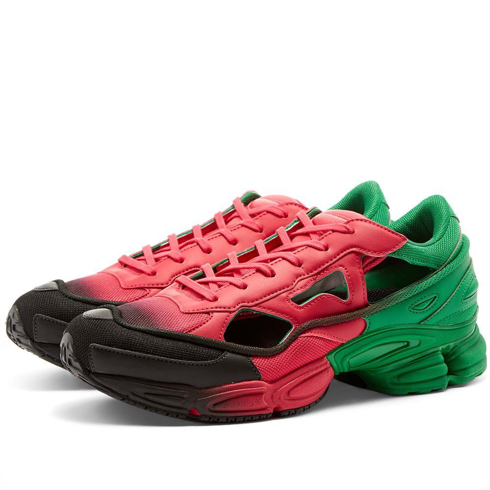アディダス Adidas x Raf Simons メンズ スニーカー シューズ・靴【replicant ozweego】Pink/Green/Black