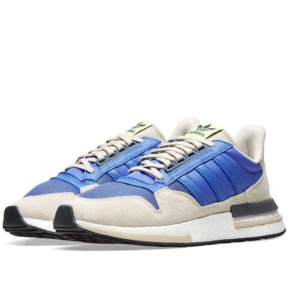 アディダス Adidas メンズ スニーカー シューズ・靴【zx 500 rm】Real Lilac/Core Black/White