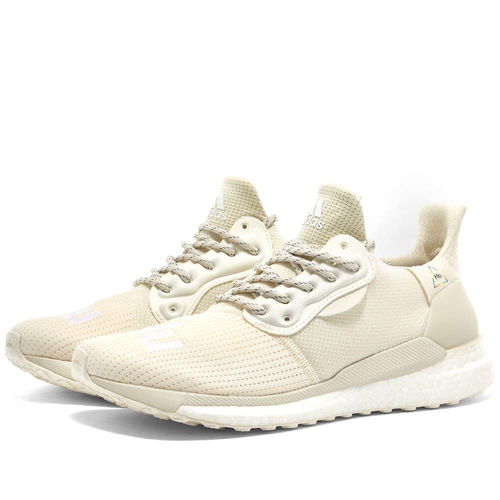 アディダス Adidas Consortium メンズ スニーカー シューズ・靴【adidas x pharrell williams solar hu proud】Cream/Raw White/Off White