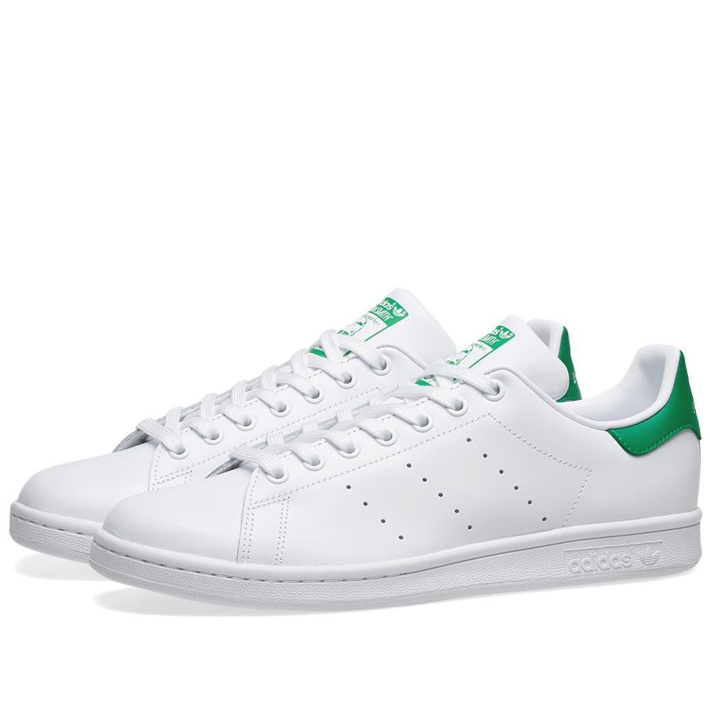 アディダス Adidas メンズ スニーカー シューズ・靴【stan smith】Running White/Fairway
