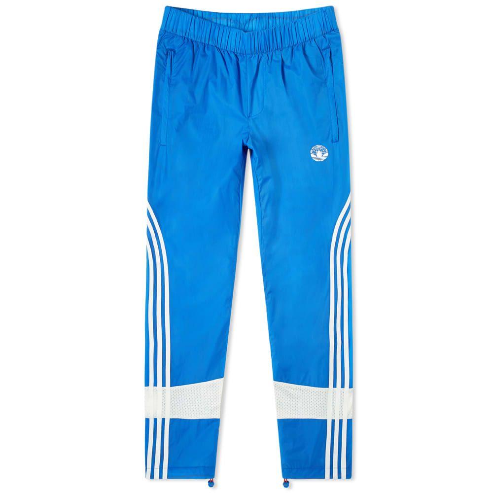 アディダス Adidas Consortium メンズ スウェット・ジャージ ボトムス・パンツ【x oyster track pant】Blue