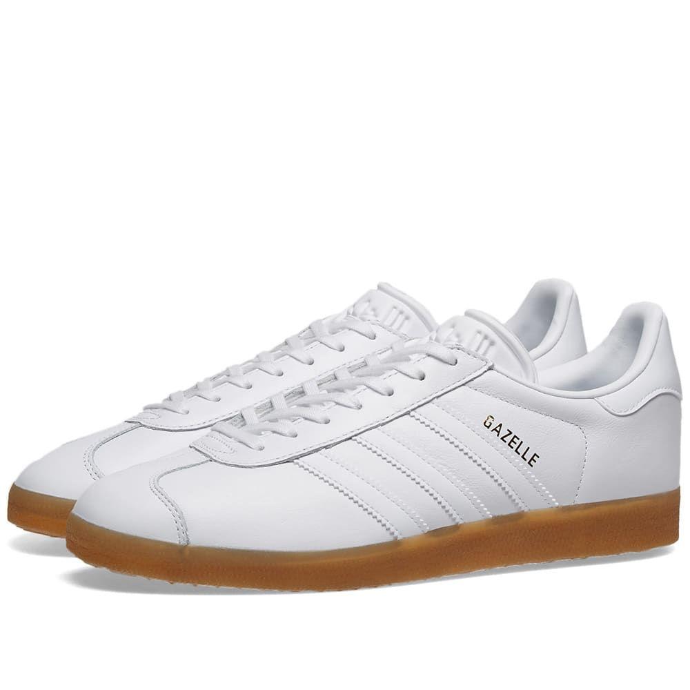 アディダス Adidas メンズ スニーカー シューズ・靴【gazelle】White/Gum