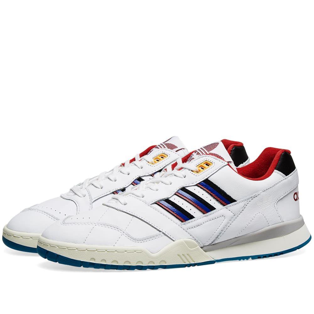 アディダス Adidas メンズ スニーカー シューズ・靴【a.r. trainer】White/Burgundy/Royal