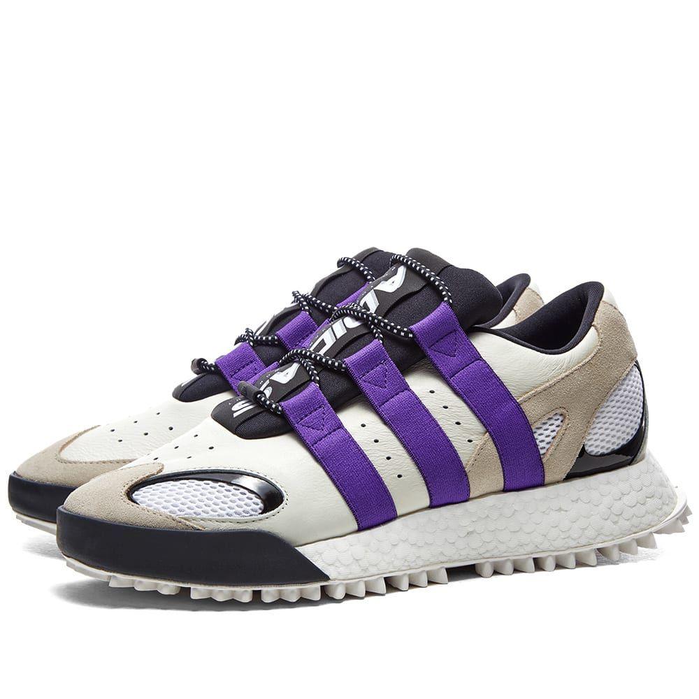 アディダス Adidas Consortium メンズ スニーカー シューズ・靴【adidas originals by alexander wang aw wangbody run】Core White/Purple/Brown