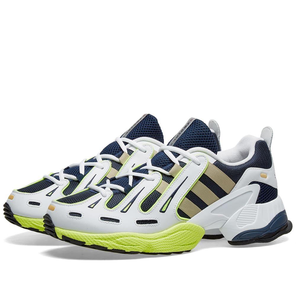 アディダス Adidas メンズ スニーカー シューズ・靴【eqt gazelle】Collegiate Navy/Gold/Yellow