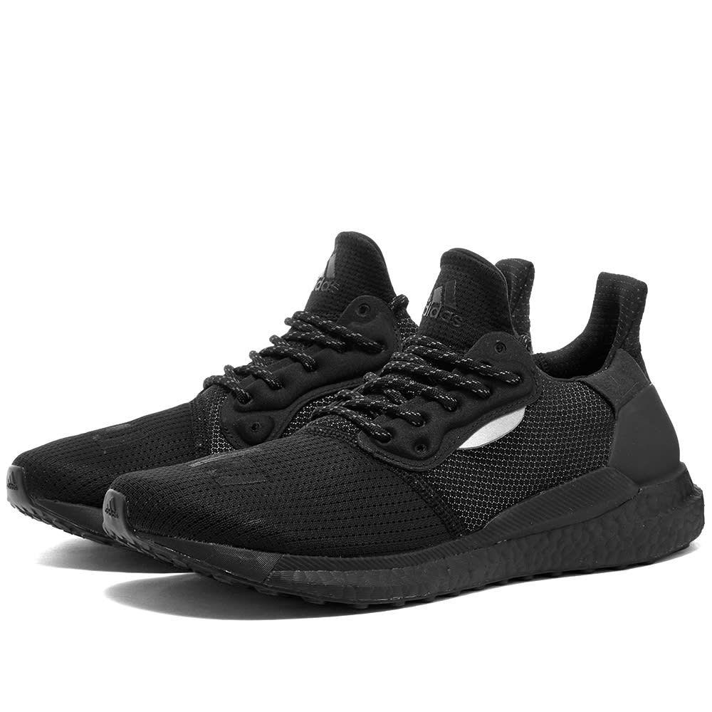 アディダス Adidas Consortium メンズ スニーカー シューズ・靴【adidas x pharrell williams solar hu proud】Black