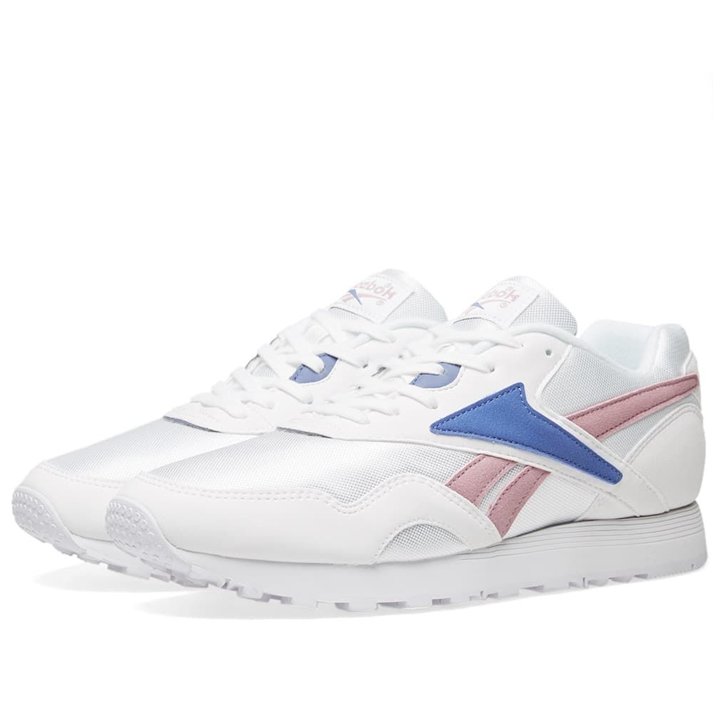 リーボック Reebok メンズ スニーカー シューズ・靴【rapide mu】White/Lilac
