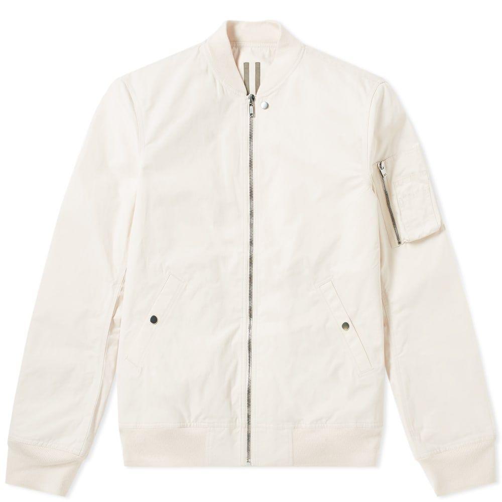 リック オウエンス Rick Owens メンズ ブルゾン ミリタリージャケット フライトジャケット アウター【drkshdw nylon flight ma-1 bomber jacket】Natural