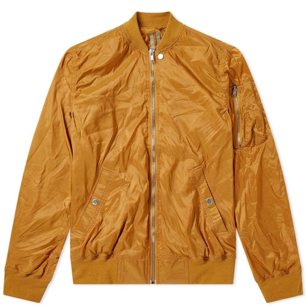 リック オウエンス Rick Owens メンズ ブルゾン ミリタリージャケット フライトジャケット アウター【drkshdw nylon flight ma-1 bomber jacket】Topaz