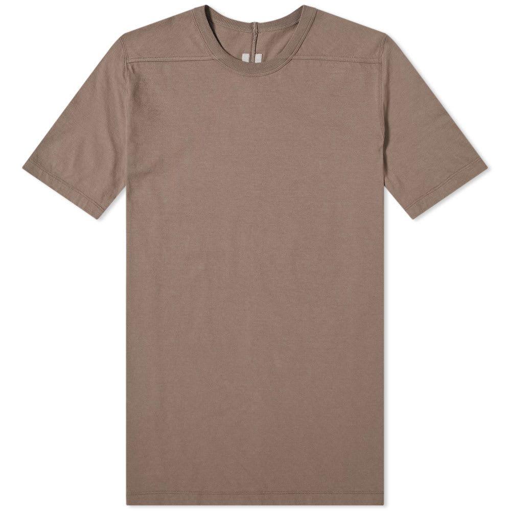リック オウエンス Rick Owens メンズ Tシャツ トップス【level tee】Dust