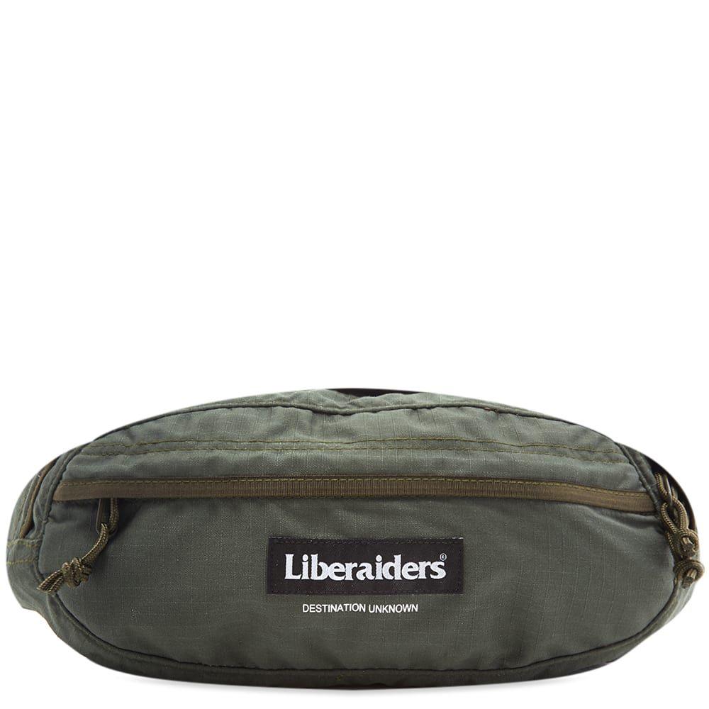 リベレイダース Liberaiders メンズ ボディバッグ・ウエストポーチ バッグ【fanny pack】Olive