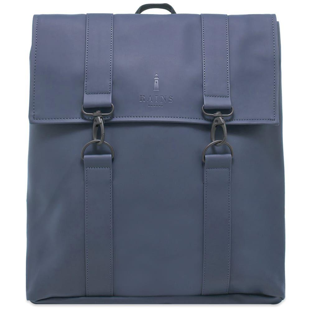 レインズ Rains メンズ バックパック・リュック バッグ【msn bag】Blue