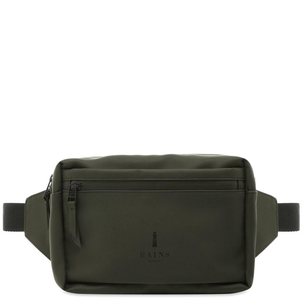 レインズ Rains メンズ ボディバッグ・ウエストポーチ バッグ【waist bag】Green