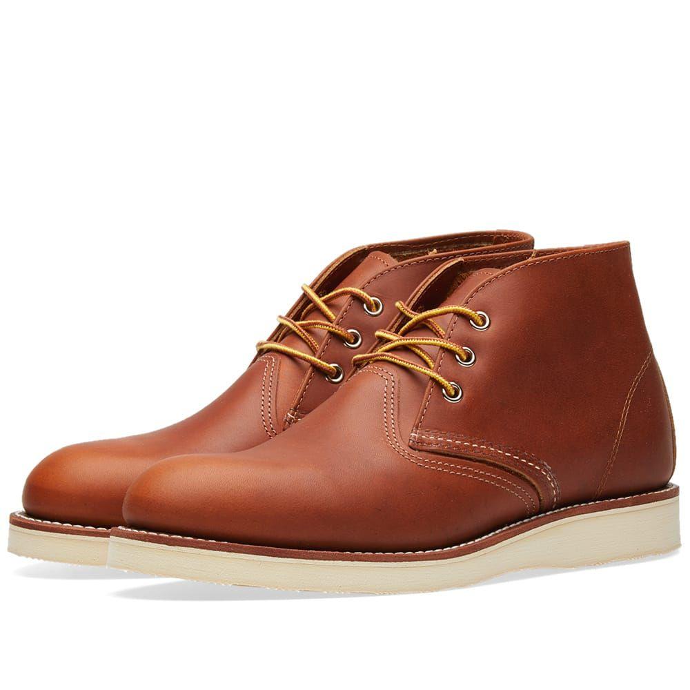 レッドウィング Red Wing メンズ シューズ・靴 ブーツ【3140 Heritage Work Chukka】Oro-iginal