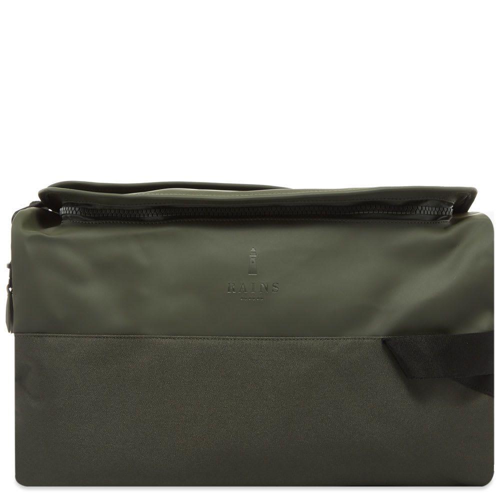 レインズ Rains メンズ バックパック・リュック バッグ【duffel backpack】Green