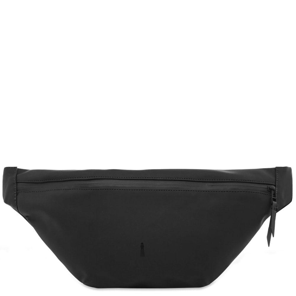 レインズ Rains メンズ ボディバッグ・ウエストポーチ バッグ【bum bag】Black