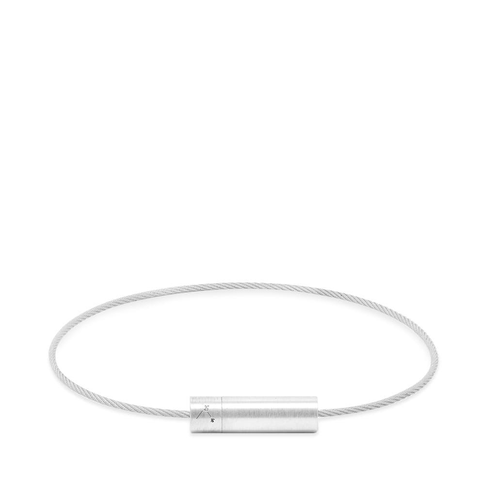 ルグラム Le Gramme メンズ ブレスレット ジュエリー・アクセサリー【brushed le cable bracelet】Silver 5g