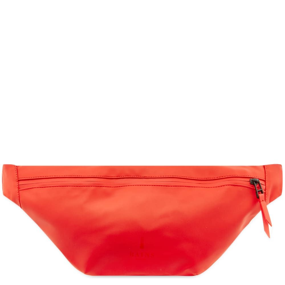 レインズ Rains メンズ ボディバッグ・ウエストポーチ バッグ【bum bag】Red