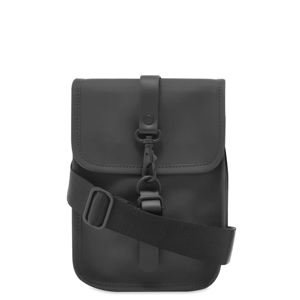 レインズ Rains メンズ ショルダーバッグ バッグ【flight bag】Black