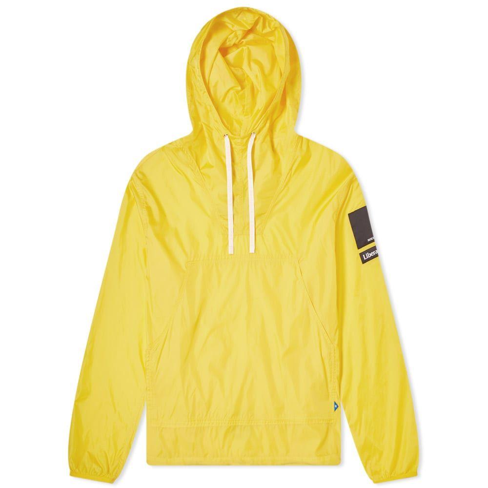リベレイダース Liberaiders メンズ ジャケット アノラック アウター【nylon ripstop anorak】Yellow
