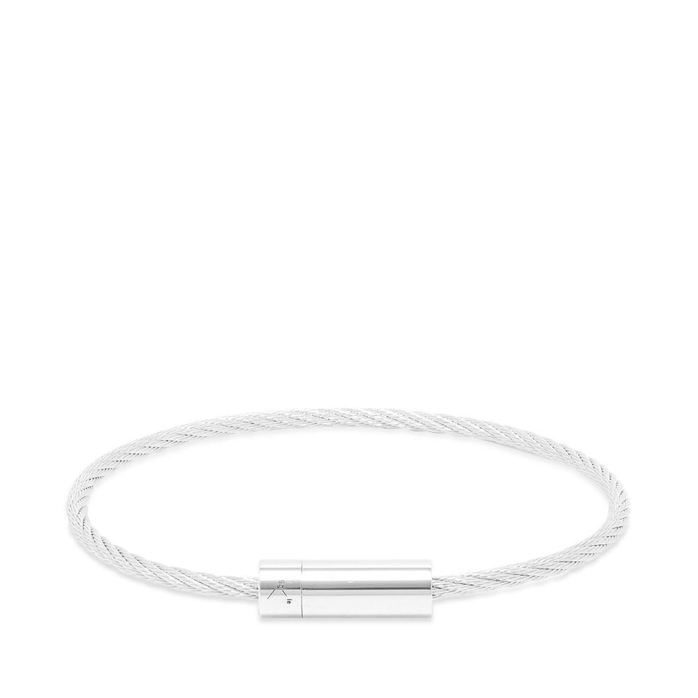 ルグラム Le Gramme メンズ ブレスレット ジュエリー・アクセサリー【brushed le cable bracelet】Silver 9g