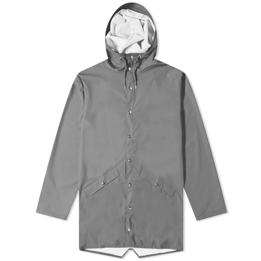 レインズ Rains メンズ ジャケット アウター【long jacket】Charcoal