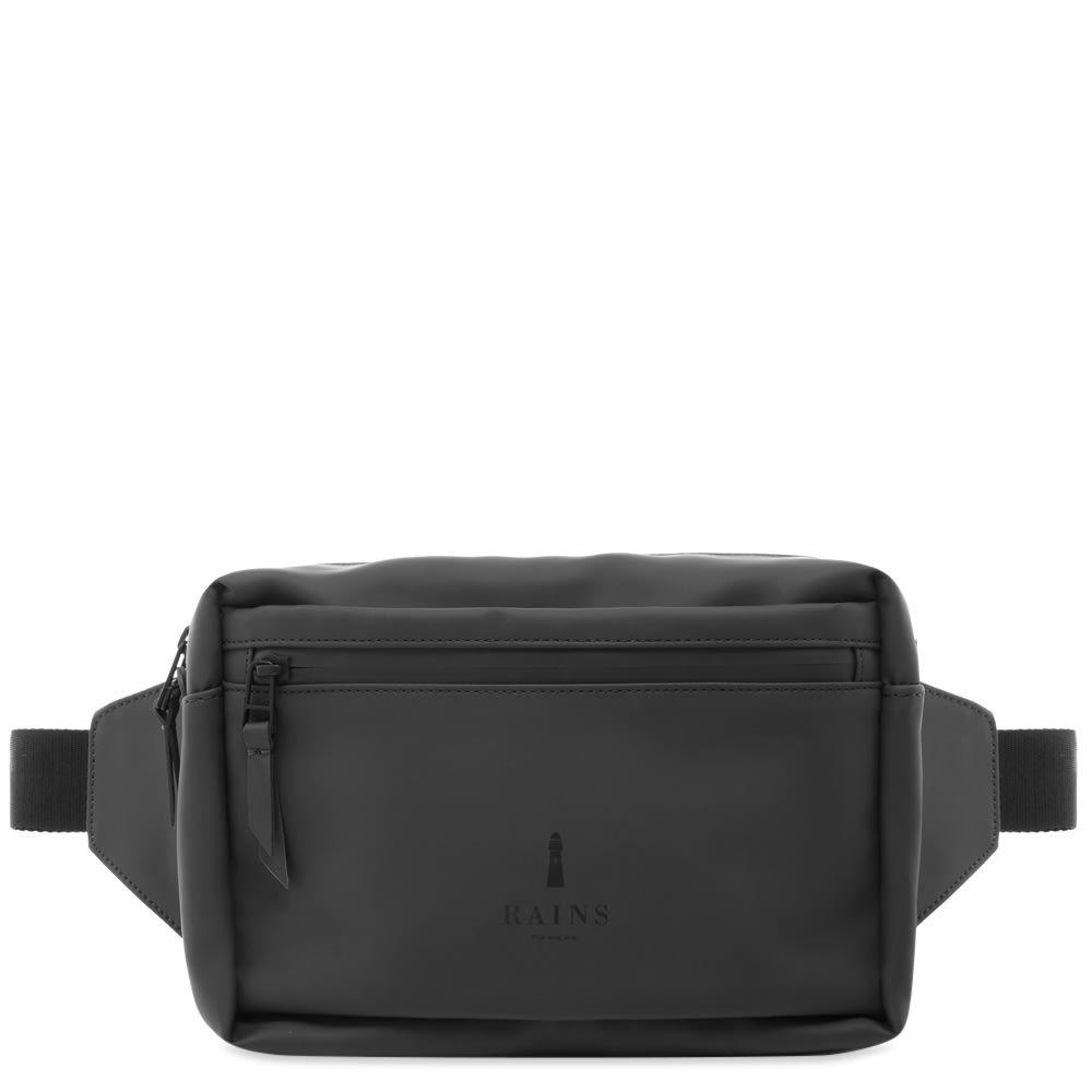 レインズ Rains メンズ ボディバッグ・ウエストポーチ バッグ【waist bag】Black