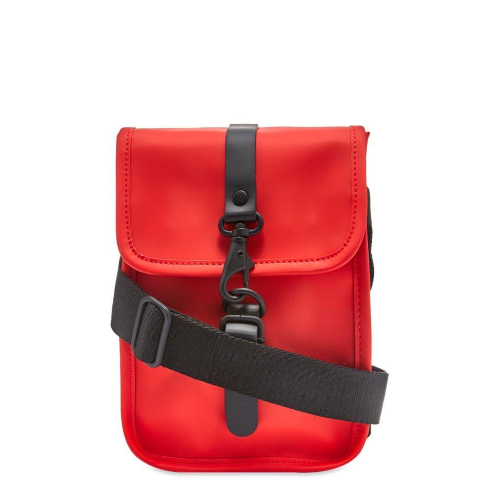 レインズ Rains メンズ ショルダーバッグ バッグ【flight bag】Red