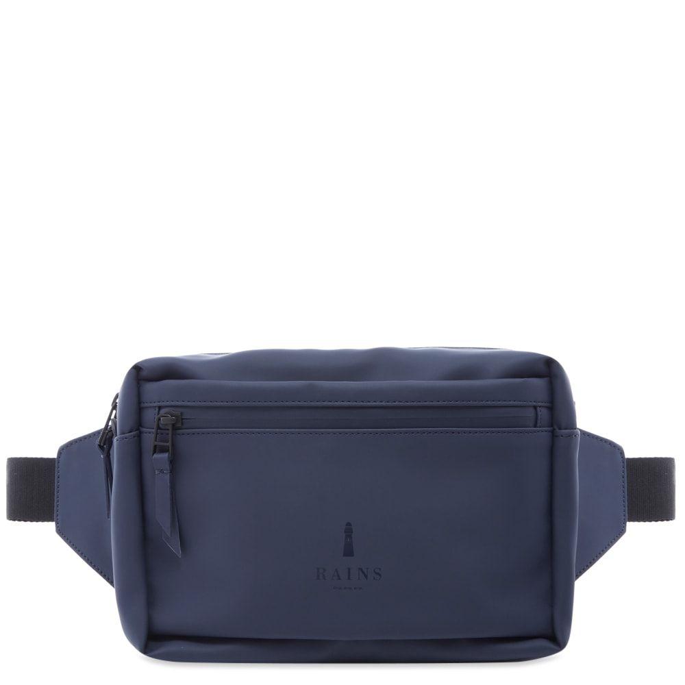 レインズ Rains メンズ ボディバッグ・ウエストポーチ バッグ【waist bag】Blue