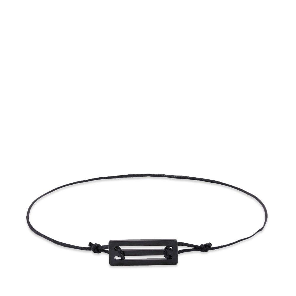 ルグラム Le Gramme メンズ ブレスレット コードブレスレット ジュエリー・アクセサリー【1.7g cord ceramic bracelet】Ceramic/Black