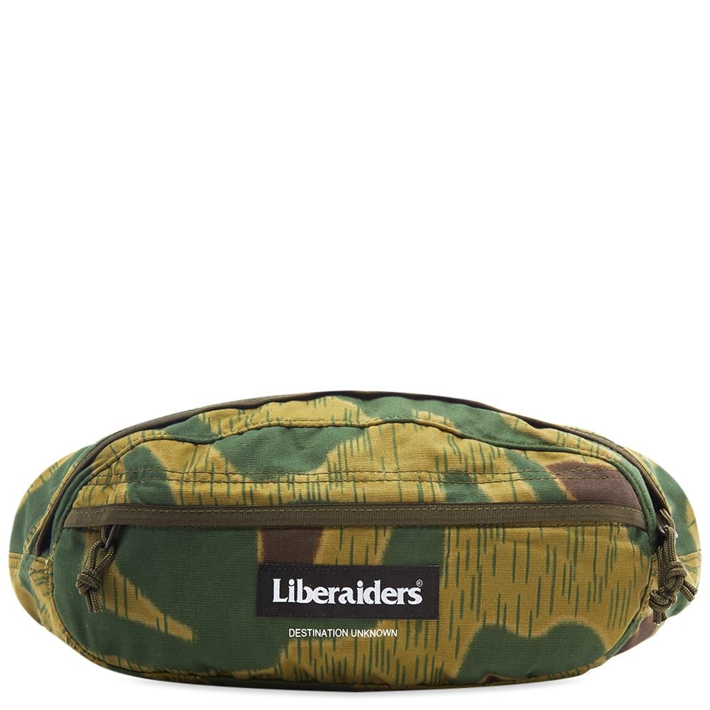 リベレイダース Liberaiders メンズ ボディバッグ・ウエストポーチ バッグ【fanny pack】Camo