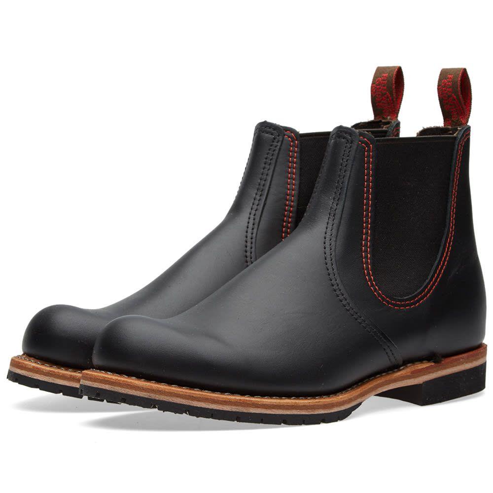 レッドウィング Red Wing メンズ シューズ・靴 ブーツ【2918 Chelsea Rancher Boot】Black Star