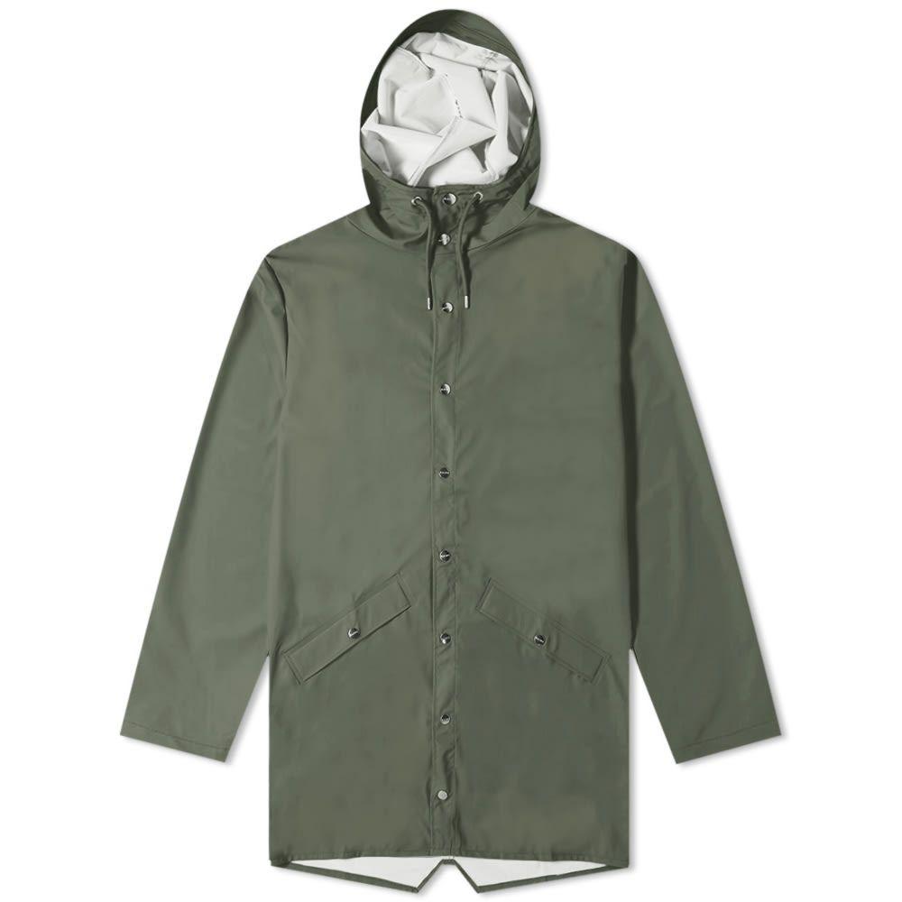 レインズ Rains メンズ ジャケット アウター【long jacket】Green