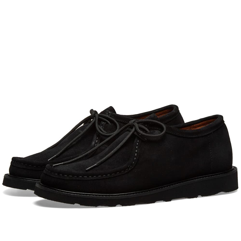 ワイルドバンチ Wild Bunch メンズ シューズ・靴【Vibram Sole Wally Shoe】Black