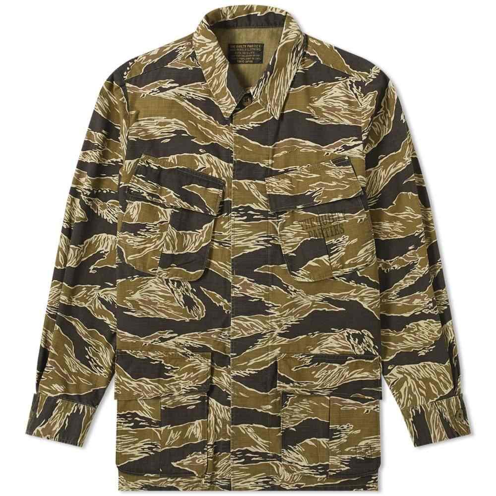 ワコマリア Wacko Maria メンズ ジャケット アウター【jungle fatigue jacket】Tiger Camo