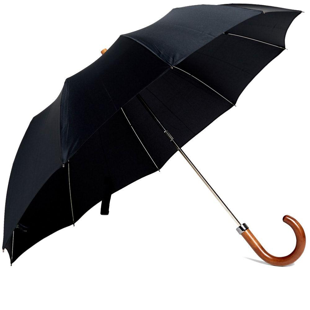 ロンドンアンダーカバー London Undercover メンズ 傘 【maple telescopic umbrella】Black