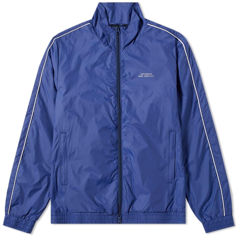 最安 サタデーニューヨーク Saturdays ジャージ メンズ NYC メンズ ジャージ アウター【everett track track jacket】Cobalt:フェルマート, IMPORTBRAND JP:492069e3 --- nagari.or.id
