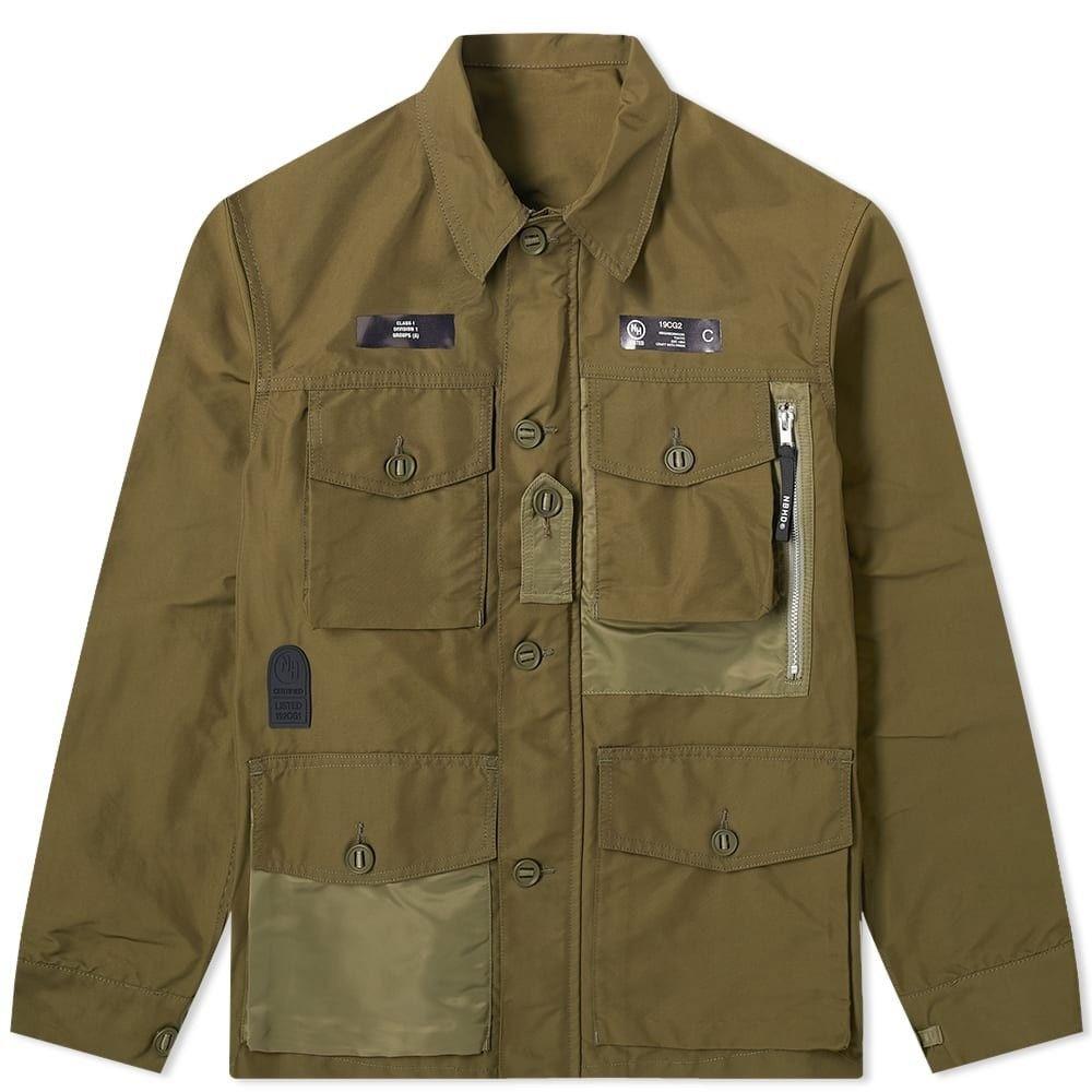 ネイバーフッド Neighborhood メンズ ジャケット アウター【smock jacket】Olive Drab