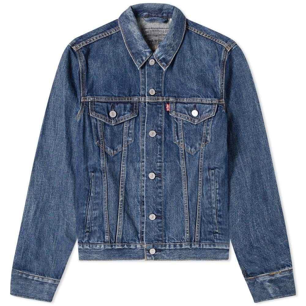リーバイス Levis Vintage Clothing メンズ ジャケット アウター【levi's x google jacquard trucker jacket】Stonewashed