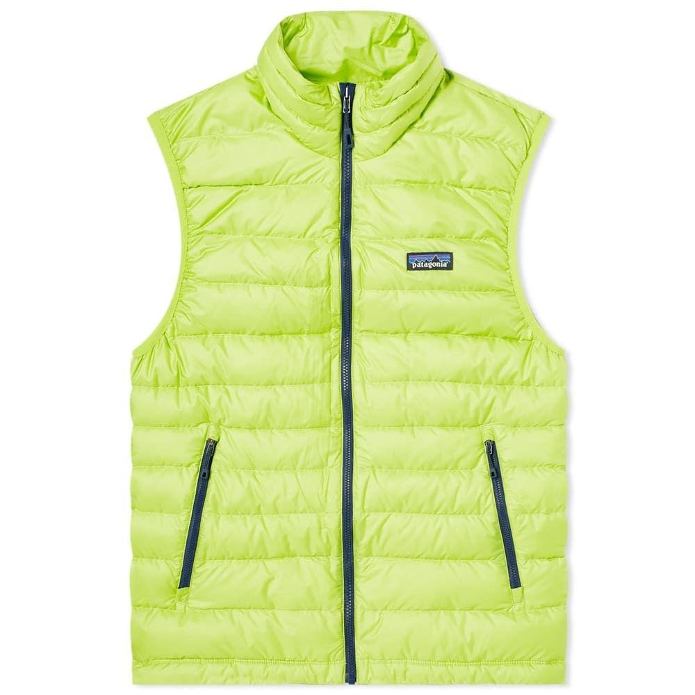 パタゴニア Patagonia メンズ ベスト・ジレ ダウンベスト トップス【down sweater vest】Peppergrass Green