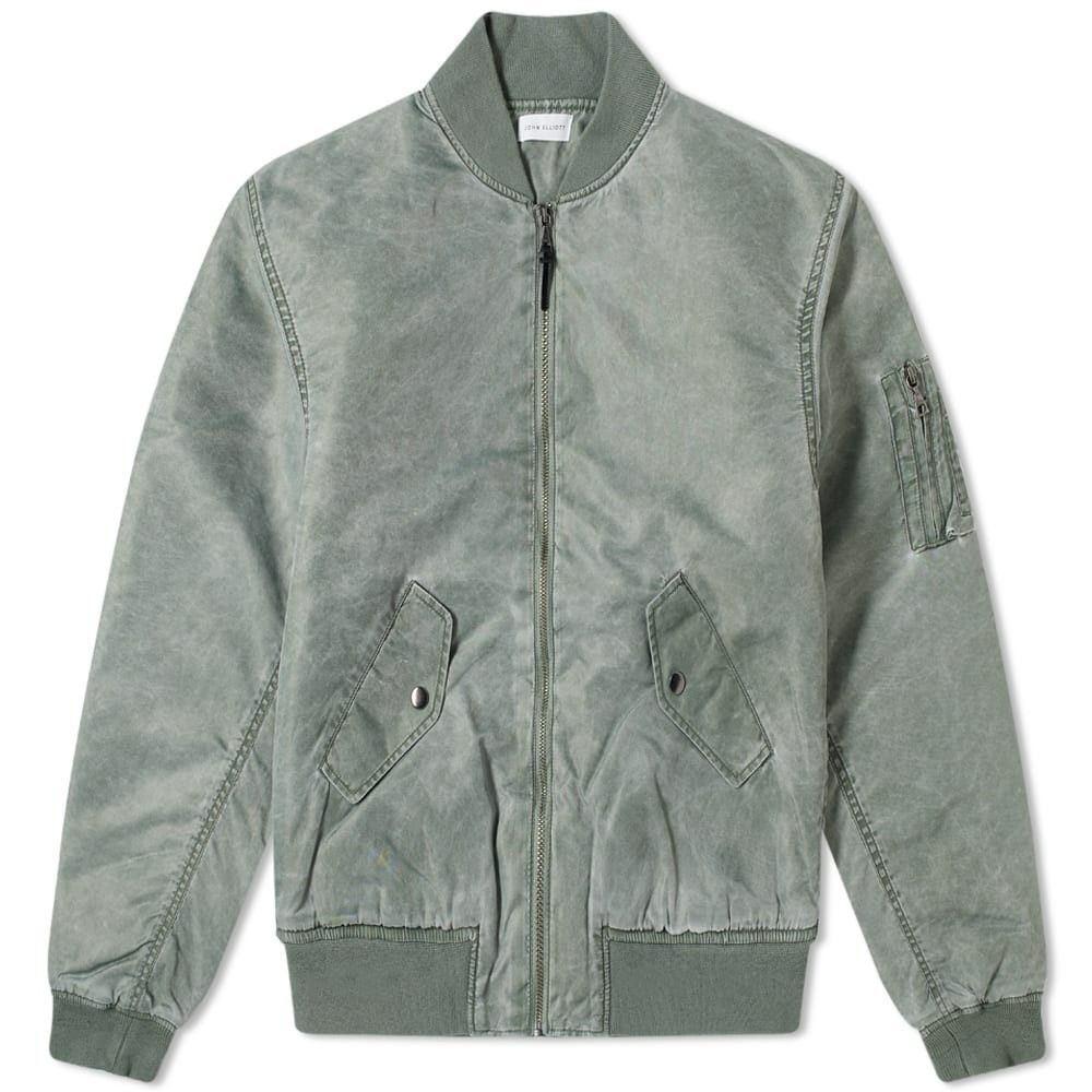 ジョン エリオット John Elliott メンズ ブルゾン ミリタリージャケット アウター【nicasio bogota bomber jacket】Spruce