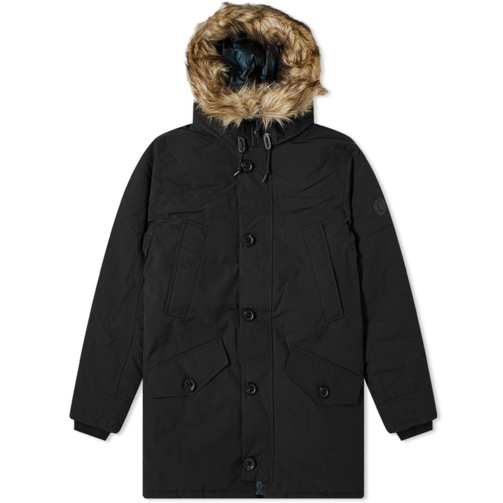 ラルフ ローレン Polo Ralph Lauren メンズ コート アウター【annex parka jacket】Polo Black